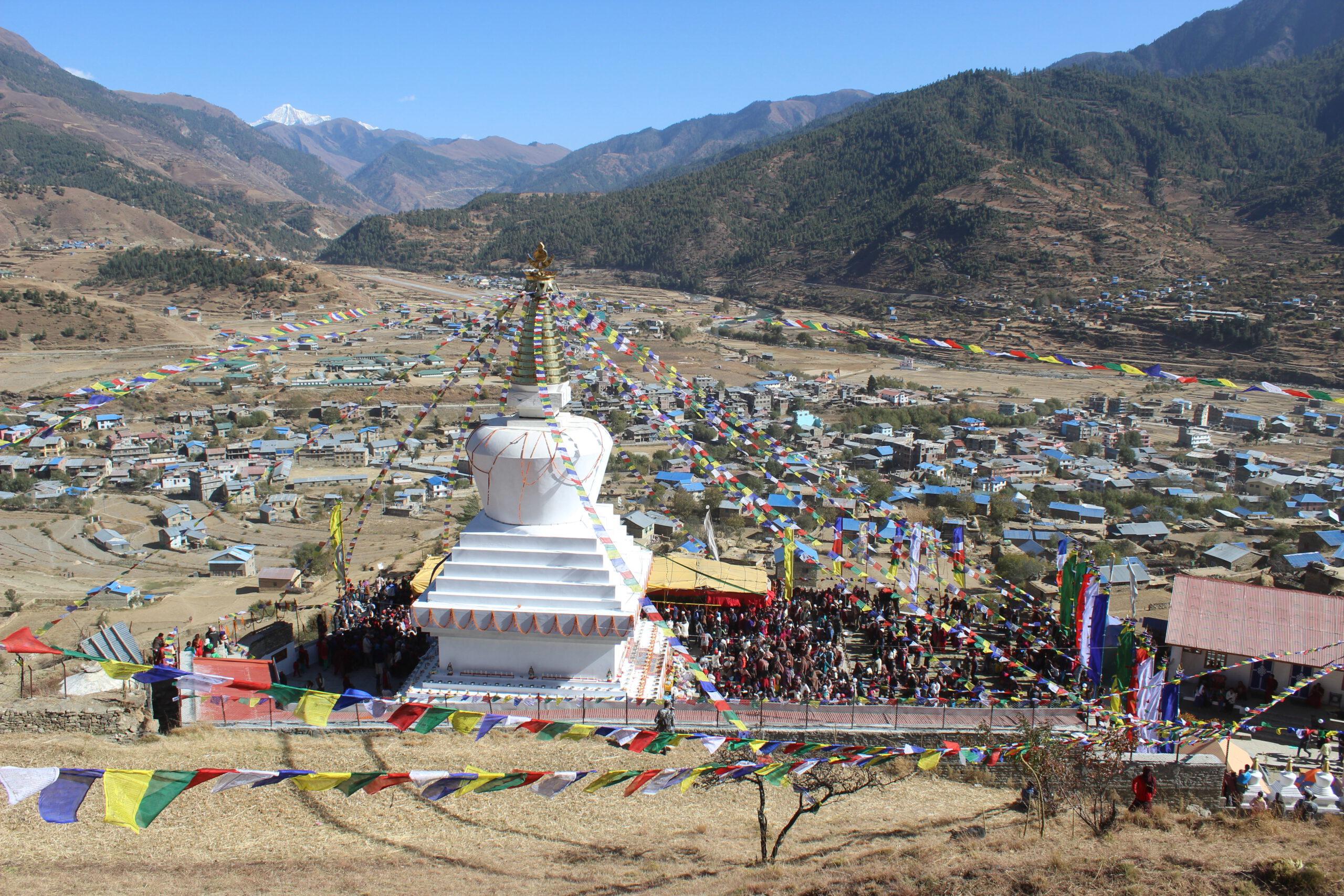 स्तुपाबाट हेर्दा जुम्ला भ्याली (फोटो फिचर)