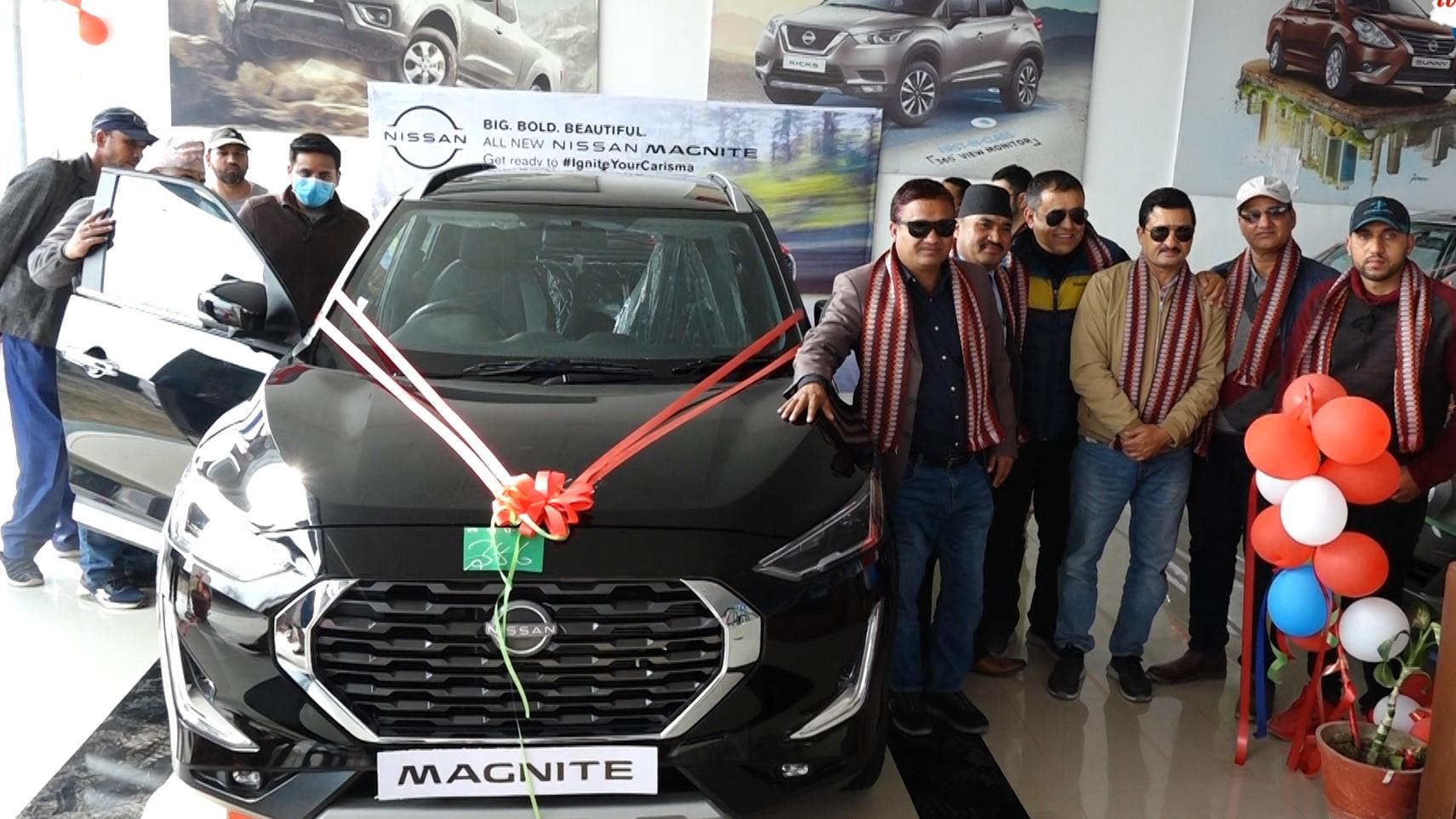 सर्बाधिक रुचाइएको NISSAN MAGNITE नामाक SUV कार कर्णालीमा लन्च