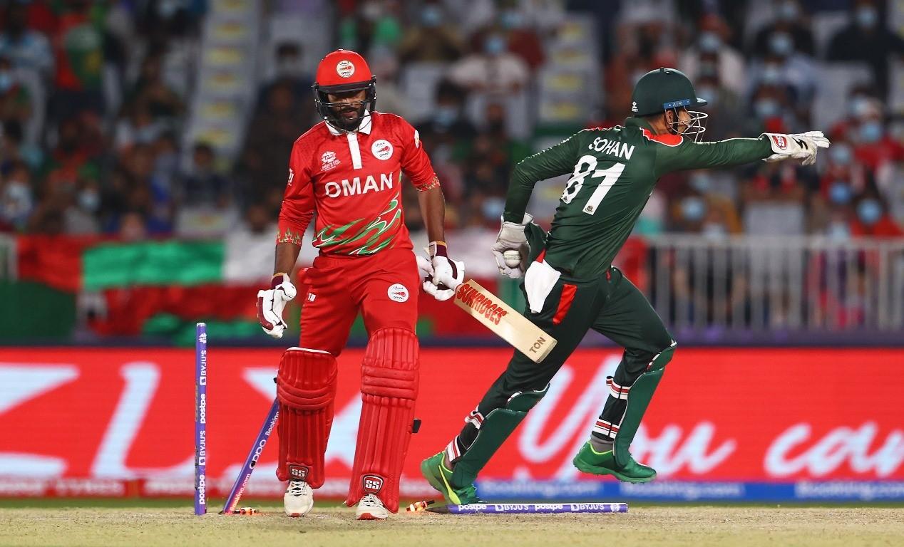 टी–ट्वान्टी विश्वकप क्रिकेटमा बंगलादेशले ओमानलाई २६ रनले हरायो